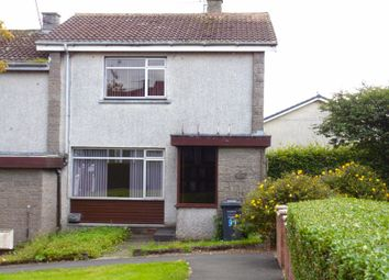 Thumbnail 2 bed terraced house for sale in Chapelhill Mount, Ardrossan, North Ayrshire