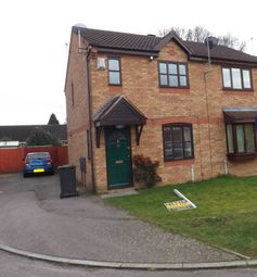 Thumbnail 2 bed semi-detached house to rent in Sycamore Close, Kettering