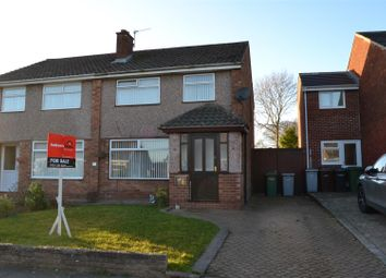 Thumbnail 3 bed semi-detached house for sale in Athol Drive, Eastham, Wirral