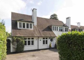 Thumbnail 4 bed cottage to rent in East Road, Weybridge