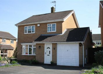 Thumbnail 3 bed detached house for sale in Farmers Close, Glenfield, Leicester
