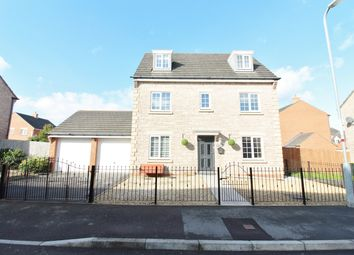 Thumbnail 6 bed detached house for sale in Grosmont Way, Newport