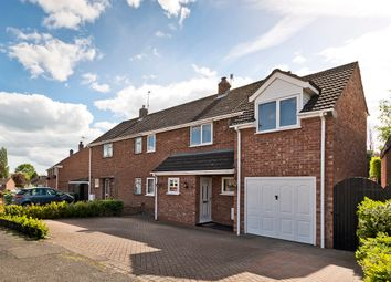 Thumbnail 4 bed semi-detached house for sale in Mortlake Avenue, Worcester