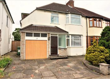 Thumbnail 4 bed semi-detached house for sale in The Chase, Romford