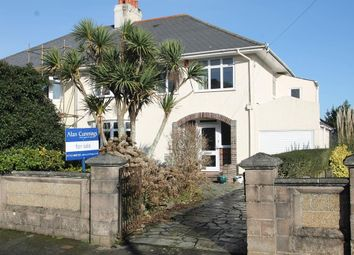 Thumbnail 4 bed semi-detached house for sale in Russell Avenue, Hartley, Plymouth