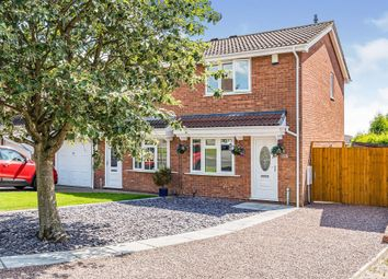 Thumbnail 2 bed semi-detached house for sale in Belvoir Close, Dudley