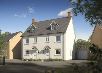 "Thumbnail 4 bedroom town house for sale in ""The Monnow"" at Darcy Business Park, Llandarcy, Neath"