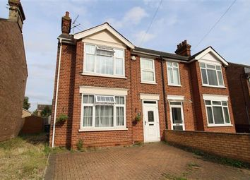 Thumbnail 3 bed semi-detached house for sale in Norman Crescent, Ipswich