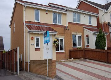 Thumbnail 3 bed semi-detached house to rent in Watson Road, Shipley View, Ilkeston, Derbyshire