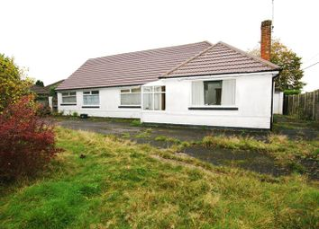 Thumbnail 4 bed detached bungalow for sale in Highfield Road, Corfe Mullen, Wimborne