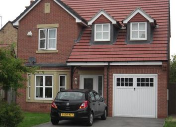 Thumbnail 4 bedroom detached house to rent in Rosyth Crescent, Chellaston, Derby