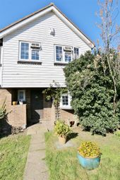 Thumbnail 3 bedroom end terrace house for sale in Cottage Field Close, Sidcup