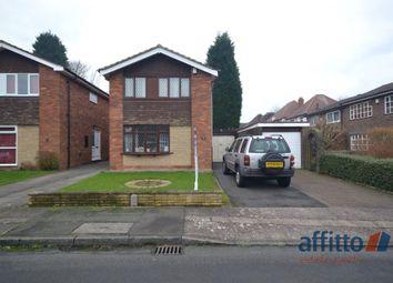 Thumbnail 3 bed detached house to rent in Deborah Close, Goldthorn Park, Wolverhampton