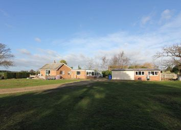 Thumbnail 3 bed detached bungalow for sale in Sotterley Road, Hulver, Beccles, Suffolk