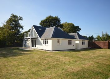 Thumbnail 5 bed bungalow to rent in Silver Street, Hordle, Lymington