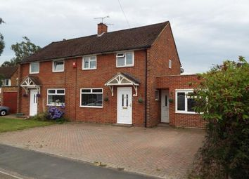 Thumbnail 3 bed semi-detached house for sale in Tadley, Hampshire, England
