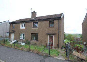 Thumbnail 3 bed semi-detached house for sale in 31, Ashmark Avenue, New Cumnock KA184EU