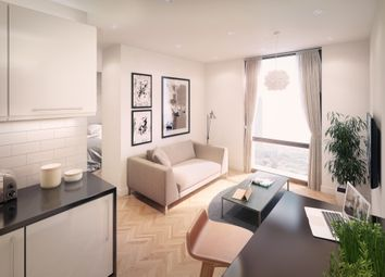 Thumbnail 1 bed flat for sale in Exclusive Penthouse Apartments, Salford