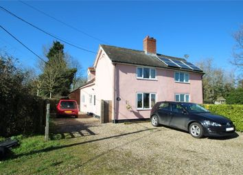 Thumbnail 3 bed cottage for sale in Mill Lane, Combs, Stowmarket