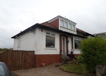 Thumbnail 4 bedroom semi-detached bungalow to rent in Merryton Avenue, Giffnock, Glasgow