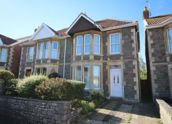 Thumbnail 3 bed semi-detached house for sale in West View Road, Keynsham, Bristol