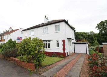 Thumbnail 4 bedroom semi-detached house for sale in Crawford Road, Milngavie, Glasgow
