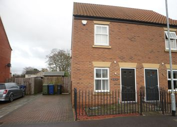 Thumbnail 2 bed semi-detached house for sale in Lime Walk, Market Rasen