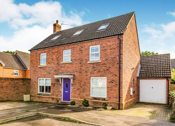 Thumbnail 4 bed detached house for sale in Tayberry Grove, Mortimer, Reading