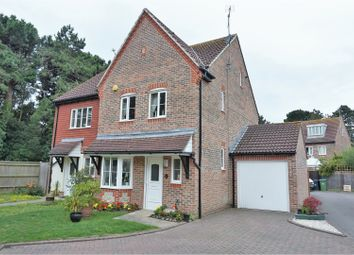 Thumbnail 4 bed semi-detached house for sale in Watersmead Close, Littlehampton