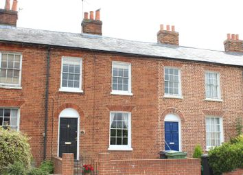 Thumbnail 3 bed terraced house to rent in Shaw Road, Newbury