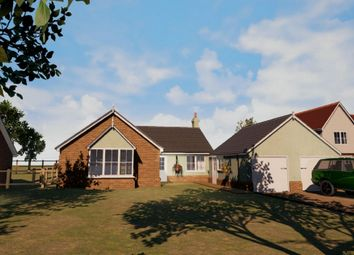 Thumbnail 4 bed detached bungalow for sale in Bucklesham Road, Foxhall, Ipswich, Suffolk
