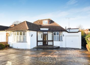 Thumbnail 4 bedroom detached bungalow for sale in Manor Drive, Ewell, Epsom