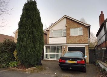 Thumbnail 4 bed detached house to rent in Etwall Road, Hall Green, Birmingham