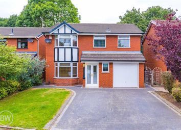 Thumbnail 4 bed detached house for sale in The Pines, Leigh, Lancashire
