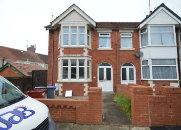 Thumbnail 3 bedroom end terrace house to rent in Bingley Avenue, Blackpool