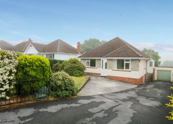 Thumbnail 3 bed detached bungalow for sale in Ridgeway Road, Newton Abbot