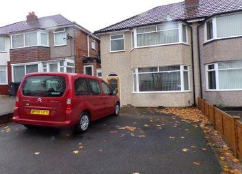 Thumbnail 3 bed property to rent in Dovercourt Road, Sheldon, Birmingham