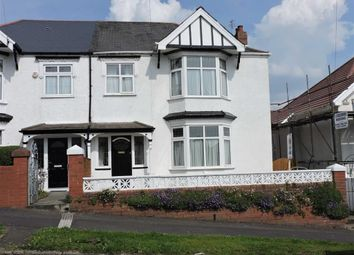 Thumbnail 3 bed semi-detached house for sale in Glanmor Park Road, Sketty, Swansea