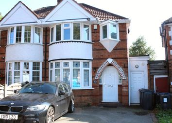 Thumbnail 3 bed semi-detached house for sale in Bryn Arden Road, Birmingham