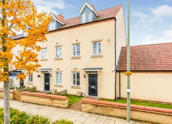 Whitelands Way, Bicester, Oxfordshire OX26. 4 bed end terrace house for sale