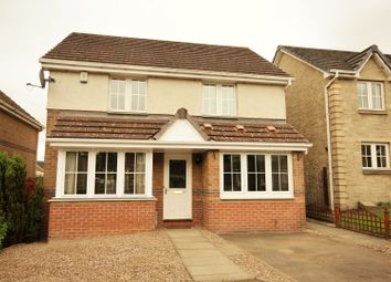 Thumbnail 4 bed detached house for sale in Buchanan Crescent, Livingston