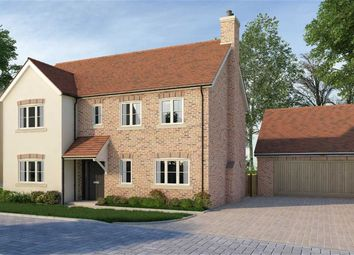 Thumbnail 4 bed detached house for sale in Hanscombe End Road, Hitchin, Hertfordshire
