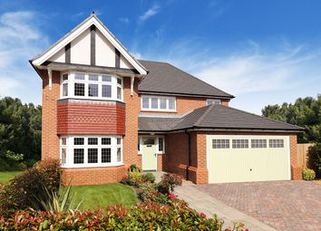 Thumbnail 4 bed detached house for sale in Guinevere Avenue, Sretton, Burton On Trent