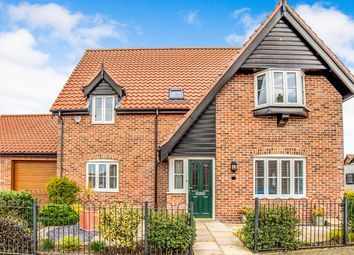 Thumbnail 4 bed detached house for sale in Victory Avenue, Bradwell, Great Yarmouth