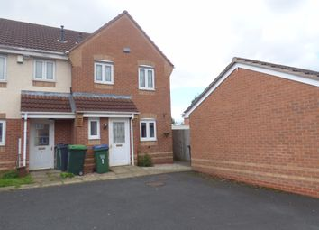 Thumbnail 3 bedroom end terrace house to rent in Penstock Drive, Oldbury