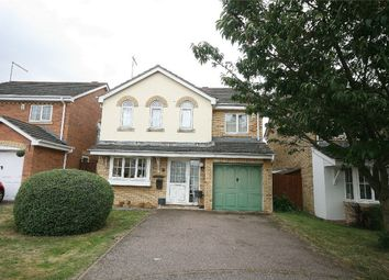 Thumbnail 4 bed detached house for sale in Stoke Firs Close, Wootton, Northampton