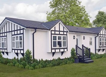 Thumbnail 2 bed mobile/park home for sale in Ranksborough Drive, Langham, Oakham