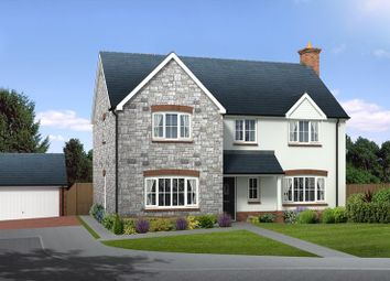 Thumbnail 4 bed detached house for sale in Squires Meadow, Lea, Ross-On-Wye