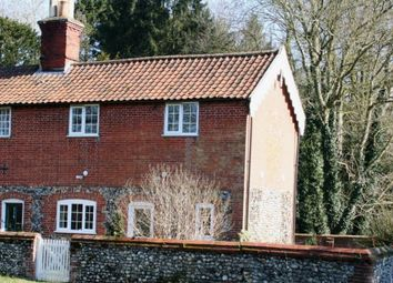 Thumbnail 3 bed semi-detached house to rent in Eccles Road, Quidenham, Norwich