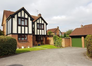 Thumbnail 4 bed detached house for sale in Sudeley Way, Grange Park, Swindon